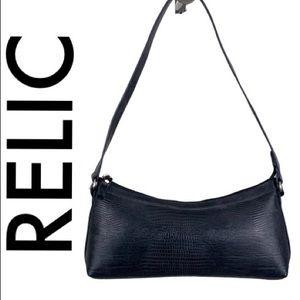 RELIC BLACK SHOULDER BAG